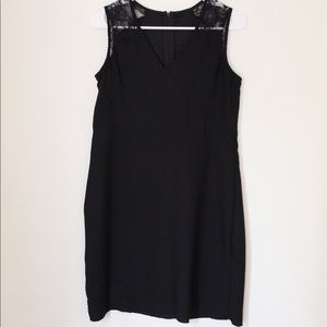 💼 ABS Little Black Dress with Lace